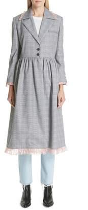 Sandy Liang Chelle Plaid Coat