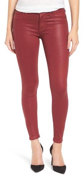 Women's Hudson Jeans Coated Super Skinny Jeans