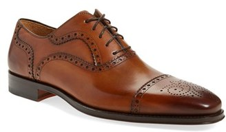 Men's Magnanni 'Santiago' Cap Toe Oxford $325 thestylecure.com