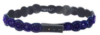 Andrew Gn Embellished Waist Belt