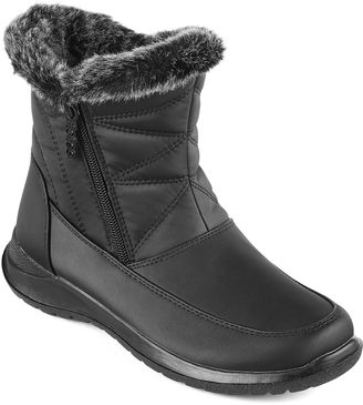 Totes Bunny Short Faux-Fur Winter Boots $69.99 thestylecure.com