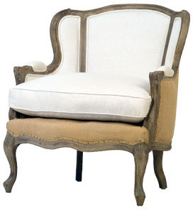 Spencer Oak Wing Chair