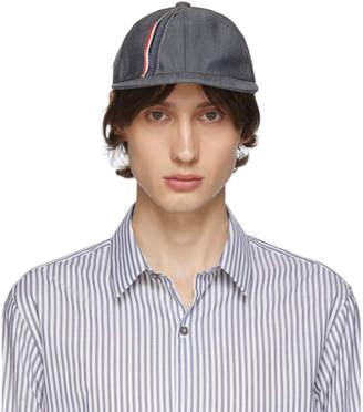 Thom Browne Grey Baseball Cap