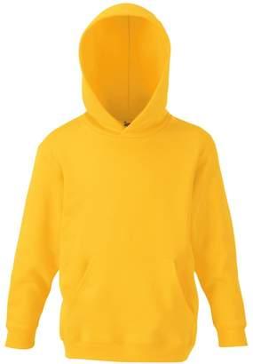 Fruit of the Loom Childrens Unisex Hooded Sweatshirt / Hoodie (5-6)