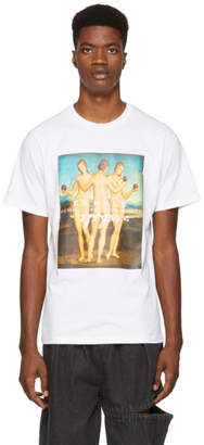 Perks And Mini White Three Graces T-Shirt