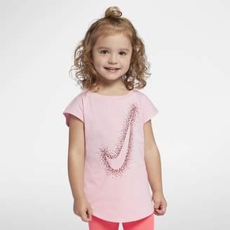 Nike Swoosh Burst Toddler Girls' T-Shirt