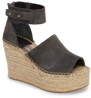 Dolce Vita Straw Wedge Espadrille Sandal