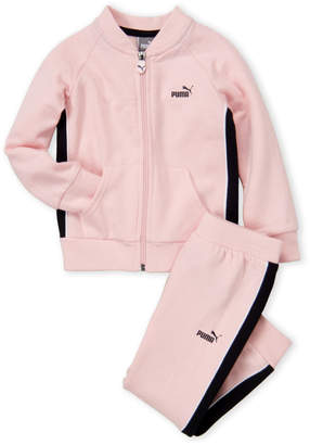 Puma Toddler Girls) Two-Piece Track Jacket and Jogger Set