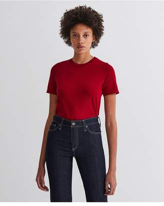 AG Jeans The Gray Boy Tee - Red Amaryllis