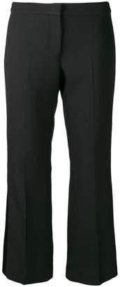 Alexander McQueen cropped tuxedo trousers