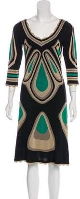 Temperley London Silk Knit Midi Dress