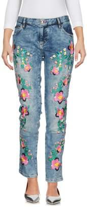 Philipp Plein Denim pants - Item 42660236