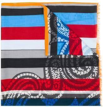 Etro striped scarf
