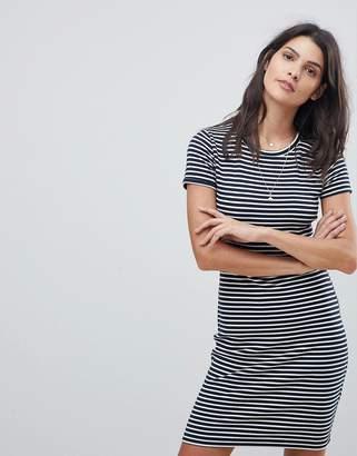 Abercrombie & Fitch Stripe T Shirt Dress