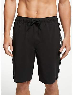 3-Stripe Swim Shorts, Core Black