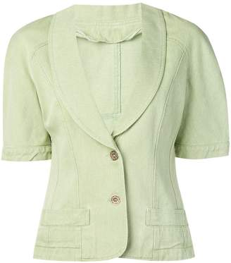 Fendi Pre-Owned 1980's short sleeve jacket
