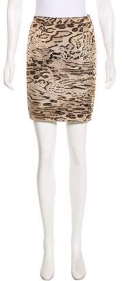 Lanvin Jacquard Mini Skirt