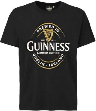 Guinness T-Shirt With Brewed In Dublin Bottle Label, Colour