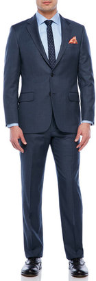 hickey freeman Blue Suit $1,495 thestylecure.com