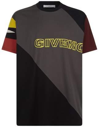 Givenchy Logo Panel Oversized T-Shirt