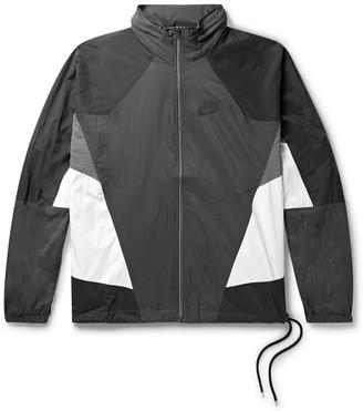 Nike Sportswear Re-Issue Colour-Block Nylon-Ripstop Track Jacket