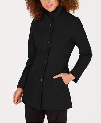 Nautica Hooded Single-Breasted Coat