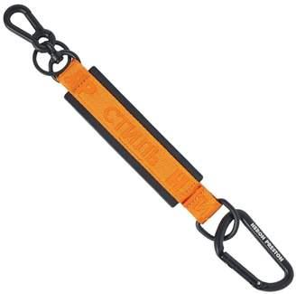 Heron Preston CTNMB Leather Keychain