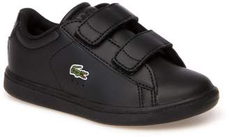 Lacoste Infants' Carnaby Evo Black Synthetic Trainers