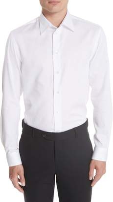 Emporio Armani Slim Fit Solid Sport Shirt