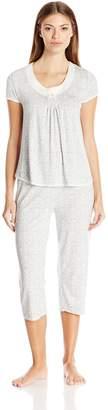 Rene Rofe Women's Simply -Me Capri Pajama Set