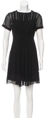 Marc by Marc Jacobs Silk Pleated Dress w/ Tags $125 thestylecure.com