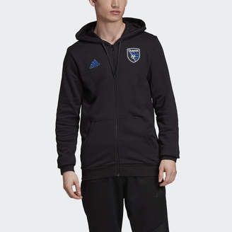 adidas San Jose Earthquakes Travel Jacket