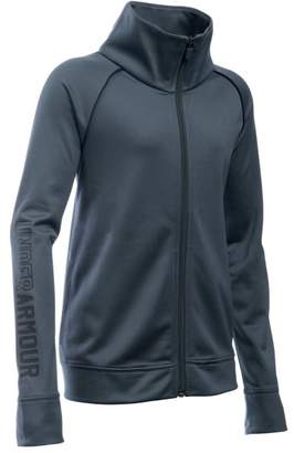 Under Armour Girls' UA Rival Full Zip Jacket