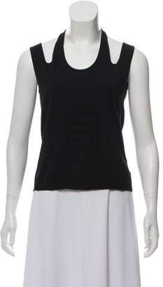 Chanel Sleeveless Knit Top