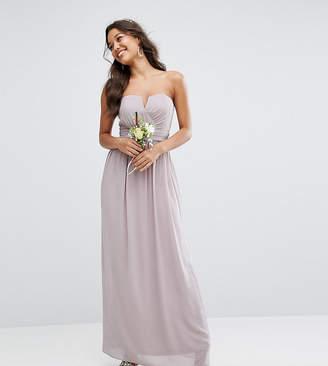 TFNC Bandeau Maxi Bridesmaid Dress