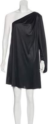 Elizabeth and James One-Shoulder Mini Dress