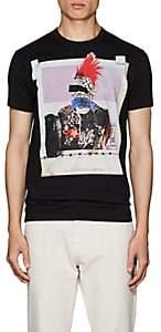 DSQUARED2 Men's Graphic-Print Cotton Jersey T-Shirt-Black Size Xs