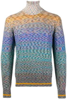 Missoni roll neck sweater