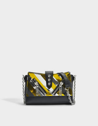 Kenzo Kalifornia Mini Shoulder Bag in Black Calfskin