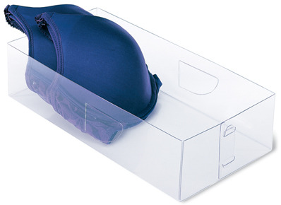 Clear Bra Boxes