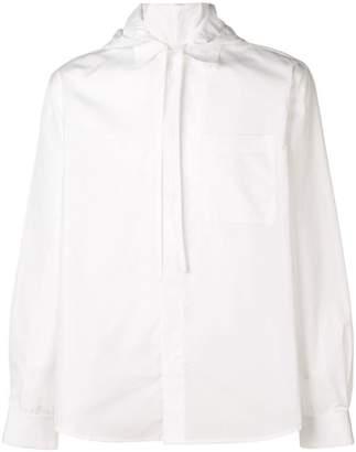Craig Green hooded Oxford shirt