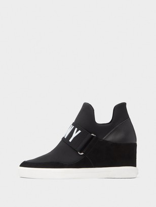 DKNY Cosmos Wedge Slip-On Sneaker