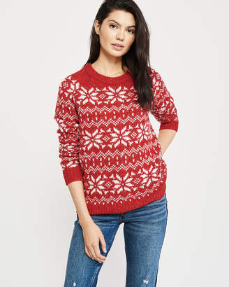 Abercrombie & Fitch Holiday Pattern Sweater