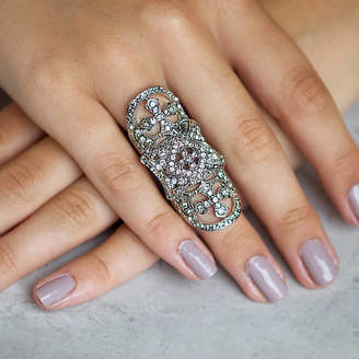 Junk Jewels Jewelled Armour Ring