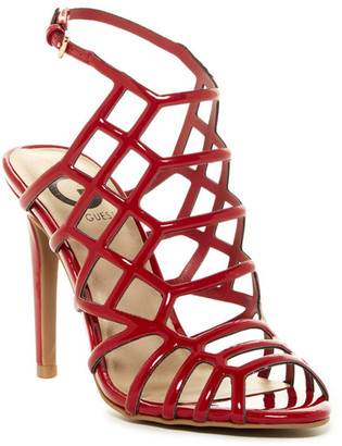 G by GUESS Berrit Caged Sandal $69 thestylecure.com