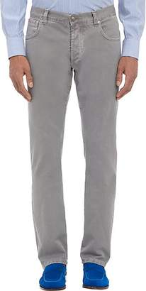 Isaia Men's Slim Straight Jeans - Gray