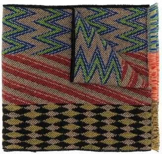 Missoni pattern mix scarf