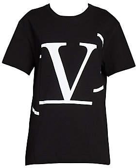 Valentino Women's Logo Graphic Jersey Tee