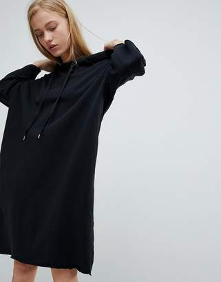Dr. Denim Jersey Dress With Hood