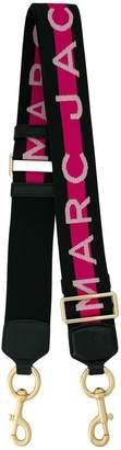Marc Jacobs logo stripe bag strap
